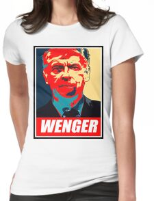 """Obey """"Arsene Wenger"""" Womens Fitted T-Shirt"""