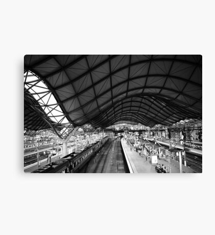 Southern Cross Station Melbourne Canvas Print