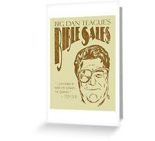 Big Dan's Bible Sales Greeting Card
