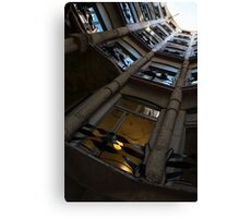 Whimsical, Intricate Antoni Gaudi Architecture  Canvas Print