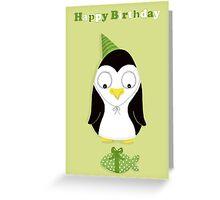 Cute Creatures (Penguin) Greeting Card