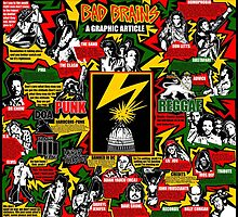 Bad Brains graphic article by Gwendal
