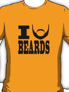 I BEARD BEARDS T-Shirt