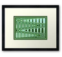 Emerald Road Framed Print