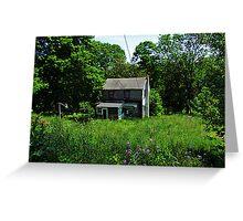 Abandoned Cottage Greeting Card