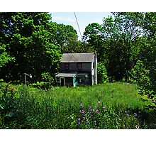 Abandoned Cottage Photographic Print