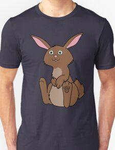Sitting Brown Rabbit Unisex T-Shirt