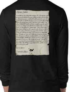 My dear Watson  Long Sleeve T-Shirt