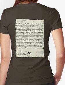 My dear Watson  Womens Fitted T-Shirt