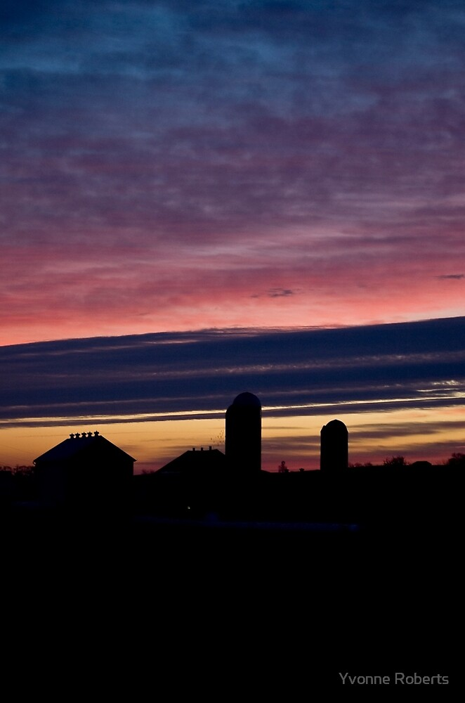 Lancaster County Dawn by Yvonne Roberts