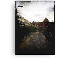 London Street Scene Canvas Print