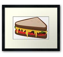 Sandwich; Succulent Framed Print