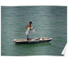 Fishing II - Pescando Poster