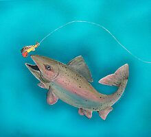 Rainbow Trout by Joann Barrack