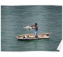 Fishing I - Pescando Poster