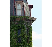 Ivy Covered Turret Photographic Print