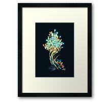 Electricitree Framed Print