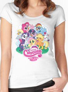 My Little Chocobo Women's Fitted Scoop T-Shirt