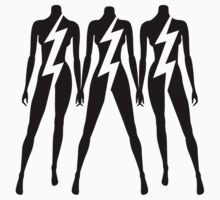 Lady Gaga - Lightning Sisters by DCdesign