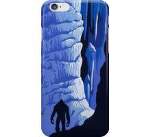 Gone Squatchin in a Cave iPhone Case/Skin