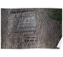 Hunting blind Poster