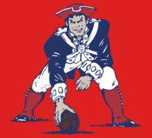 Throwback New England Patriots Logo Kids Clothes