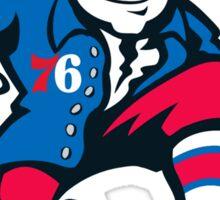 Philadelphia 76'ers Benjamin Franklin 2015-2016 Logo Sticker