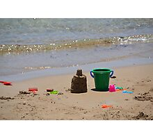 Bucket and Spade Photographic Print