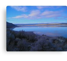 Landscape at Abert Rim, Oregon Canvas Print