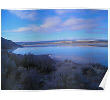 Landscape at Abert Rim, Oregon Poster