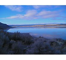 Landscape at Abert Rim, Oregon Photographic Print