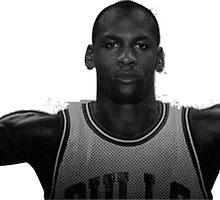 Michael Jordan Wingspan by TheTeeShirtGuy