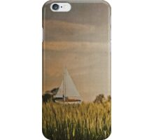 On a sea of green iPhone Case/Skin