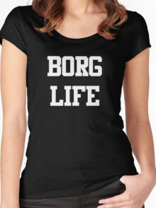 Borg Life Women's Fitted Scoop T-Shirt