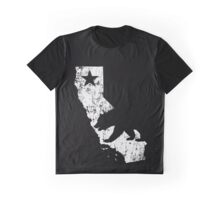 Vintage California State Outline Graphic T-Shirt