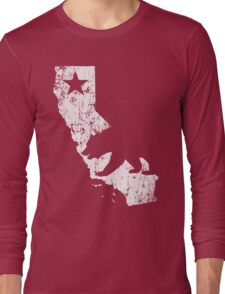 Vintage California State Outline Long Sleeve T-Shirt