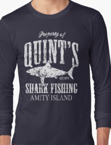 Quints Shark Fishing Long Sleeve T-Shirt