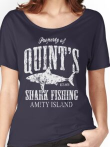 Quints Shark Fishing Women's Relaxed Fit T-Shirt