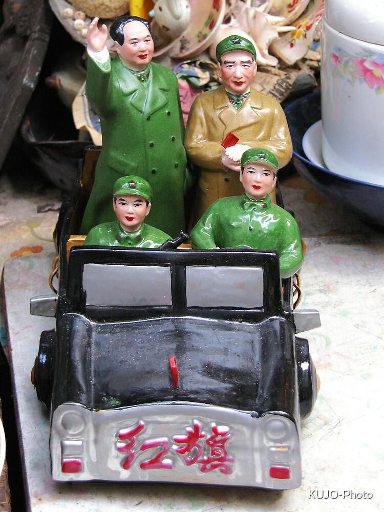 Mao Tse Tung Figurine by KUJO-Photo