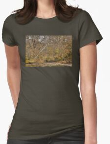 Tree Bones Womens Fitted T-Shirt