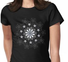 Bright Mandala Womens Fitted T-Shirt