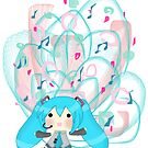 Happy Hatsune (Design 2) by HappyApple