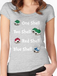 1 Shell 2 Shell Women's Fitted Scoop T-Shirt
