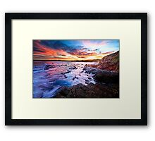Saltwater Beach NSW Australia Framed Print