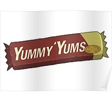 Rick and Morty – Yummy Yums, Now Purgenol Free Poster