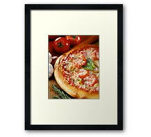 Pizza Framed Print