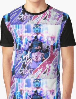 Jotaro Summons Star Platinum Graphic T-Shirt