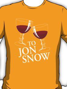 To Jon Snow T-Shirt