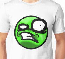 WTF Face (Green) Unisex T-Shirt