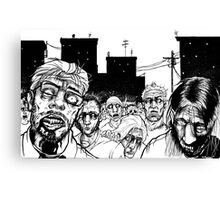 More Zombies Canvas Print